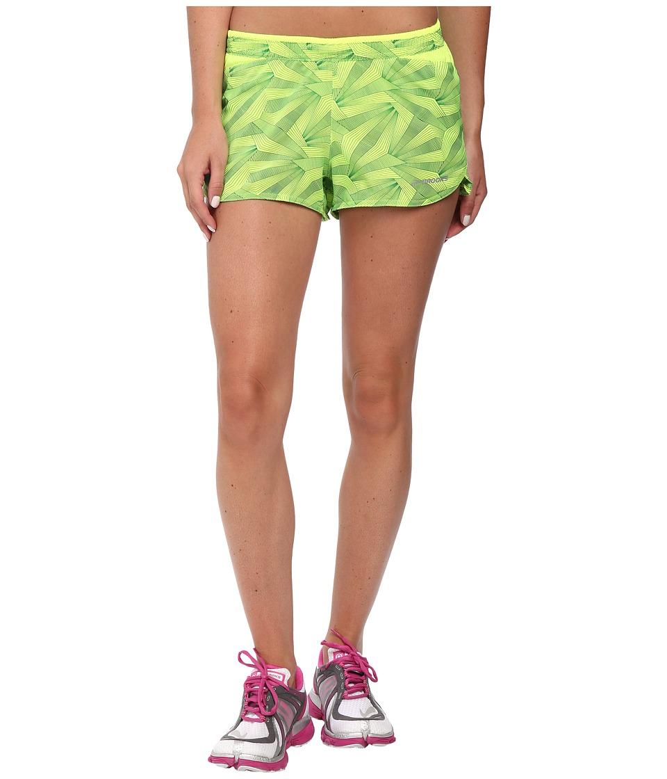 Brooks - Racey 2.5 Split Shorts (Nightlife) Women