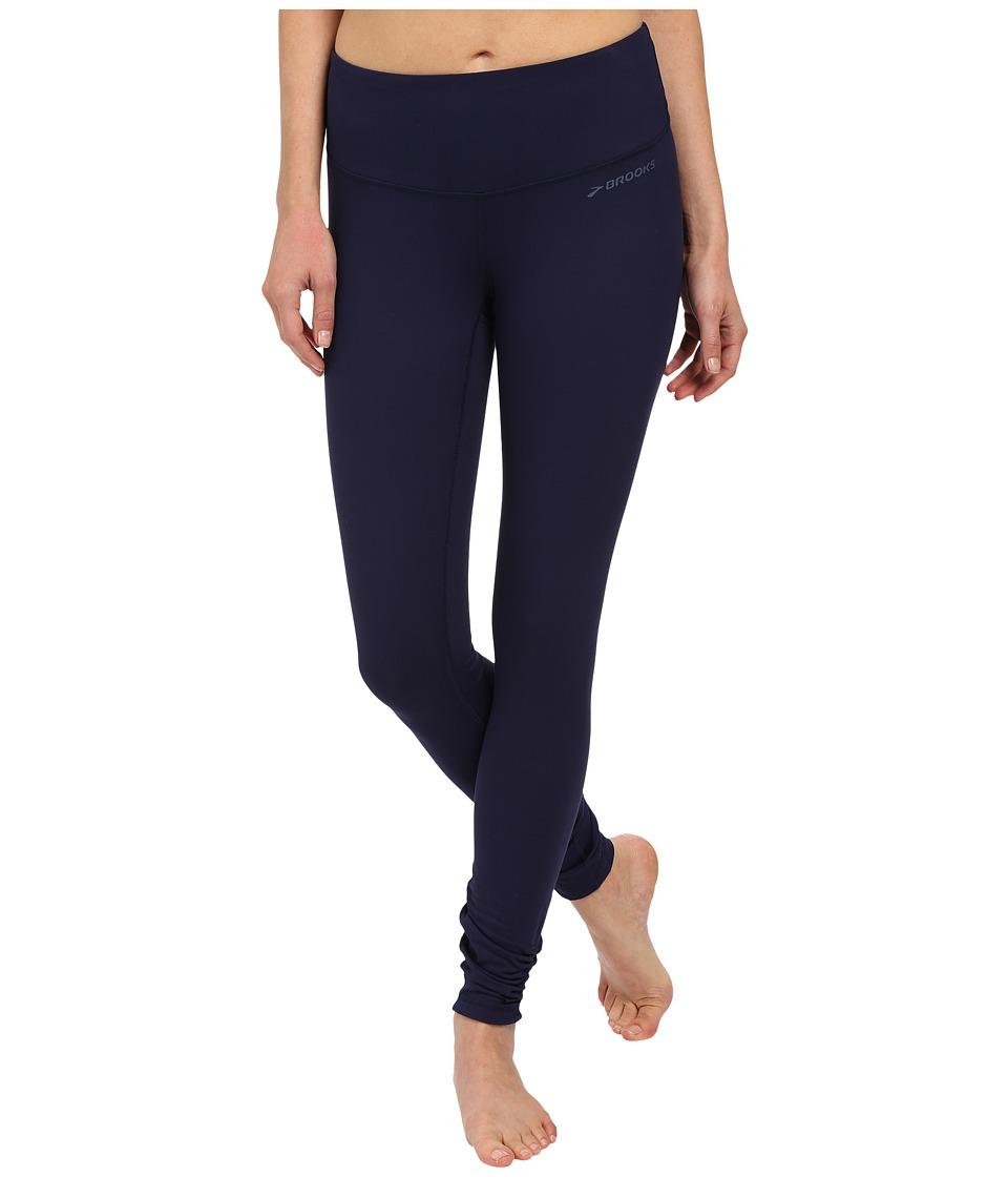 Brooks - Greenlight Tights (Navy/Navy) Women's Casual Pants