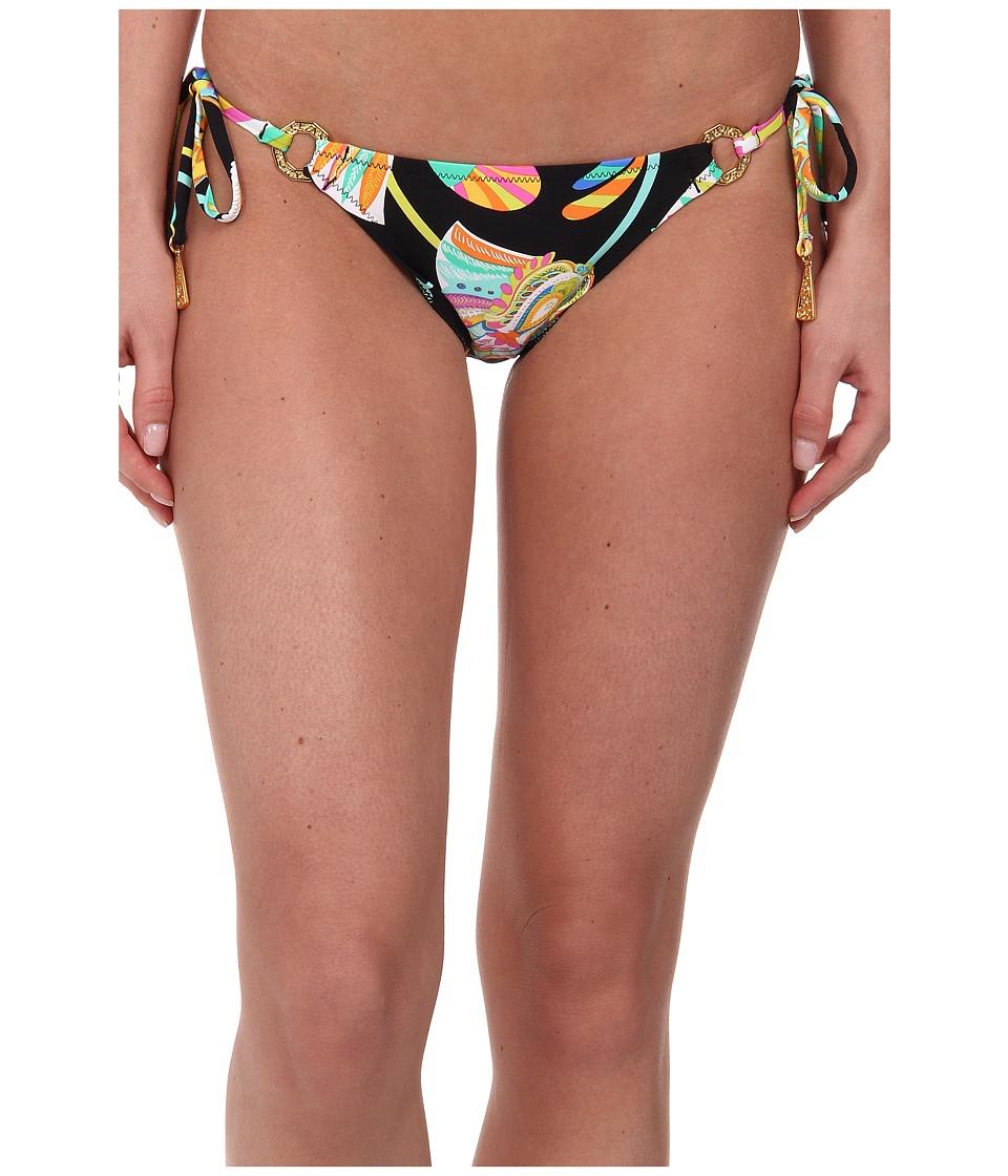 Trina Turk - Tahitian Floral Tie Side Hipster (Multi) Women's Swimwear
