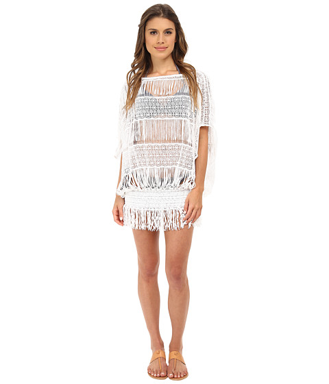 Trina Turk - French Lace Cover-Up (White) Women
