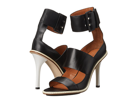 10 Crosby Derek Lam - Ilia (Black Calf) Women's Dress Sandals