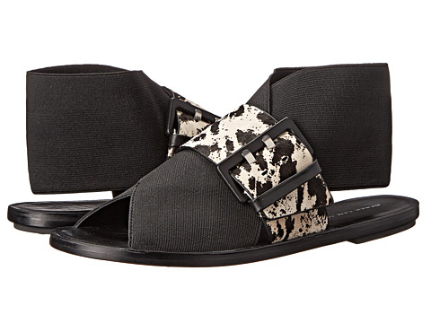 10 Crosby Derek Lam - Patrice (Black/Natural Black Cheetah) Women's Sandals