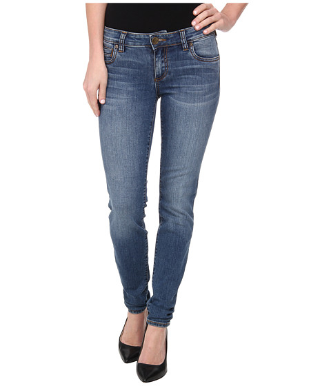 KUT from the Kloth - Mia Skinny in Contingent with Medium Base Wash (Contingent w/ Medium Base Wash) Women's Jeans