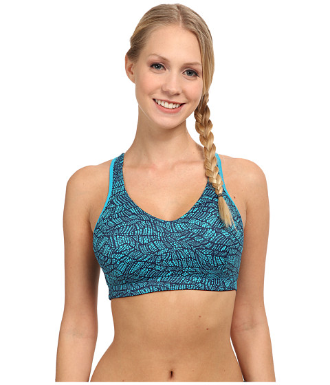 Moving Comfort - Vixen C/D (Azure Lace/Navy) Women's Bra