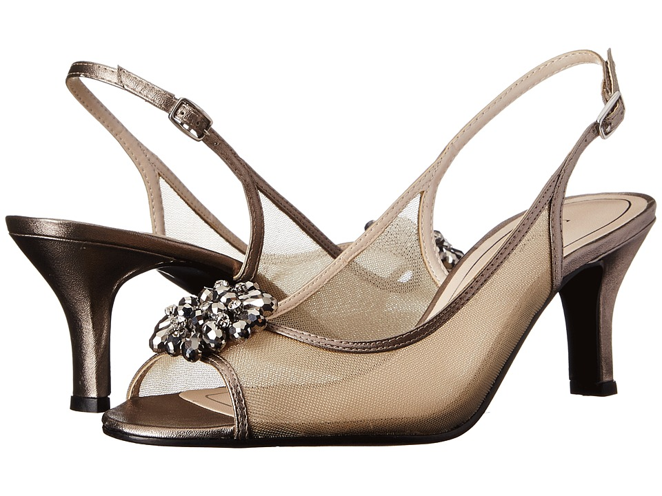Caparros Savanna (Mushroom Metallic) High Heels