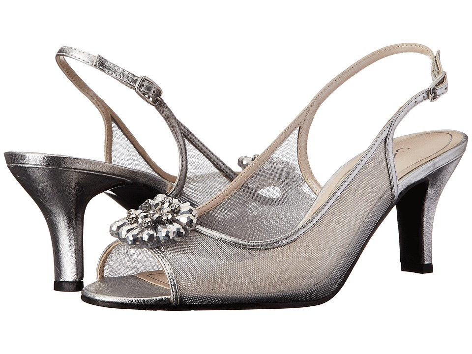 Caparros Savanna (Silver Metallic) High Heels