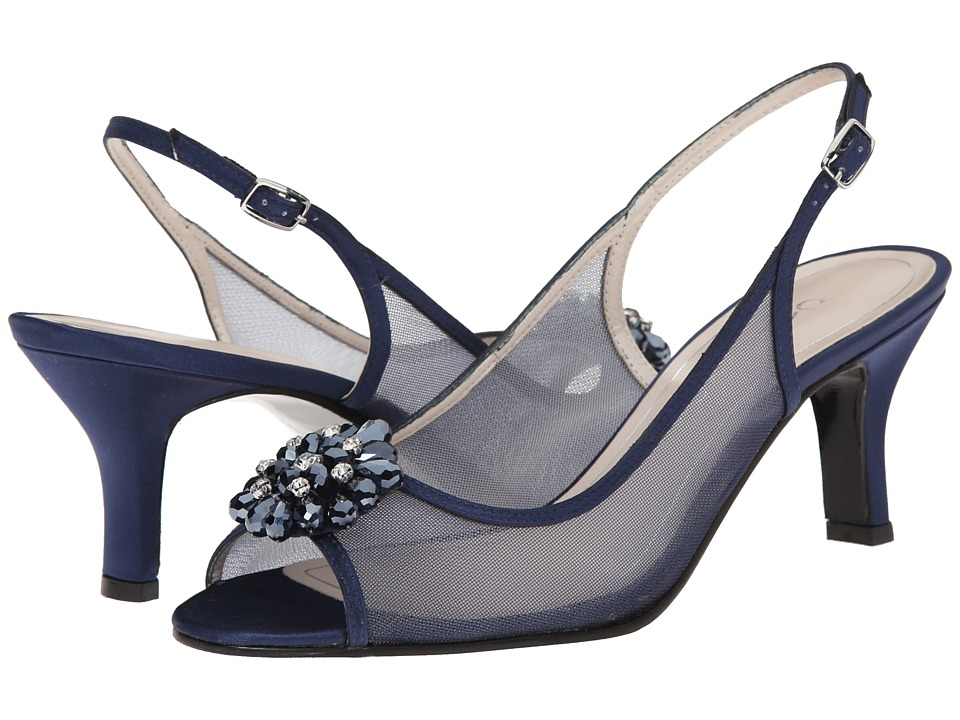 Caparros Savanna (True Blue Satin) High Heels