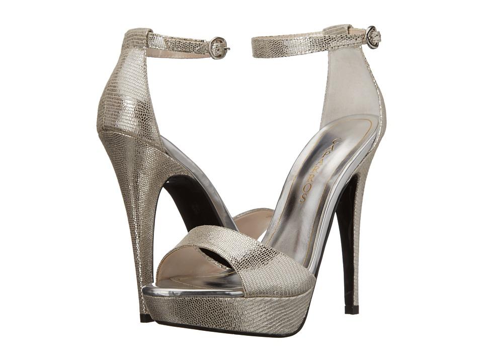 Caparros Tasha (Silver Lizard) High Heels