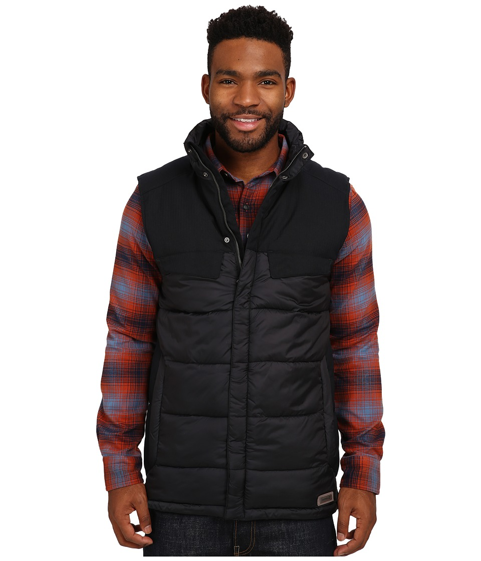 Merrell - City Puffer Vest (Black) Men's Vest