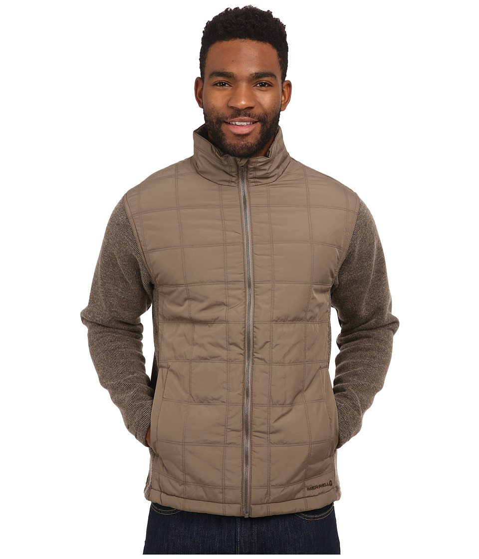 Merrell - Big Sky Hybrid (Cappuccino Heather) Men's Jacket