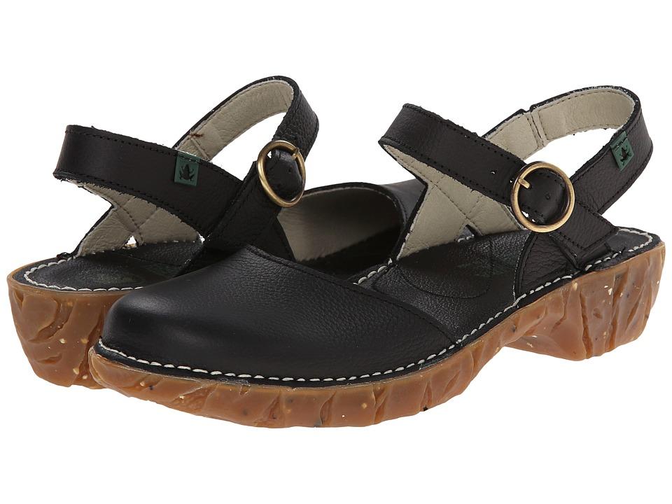 El Naturalista - Yggdrasil N178 (Black) Women's Shoes