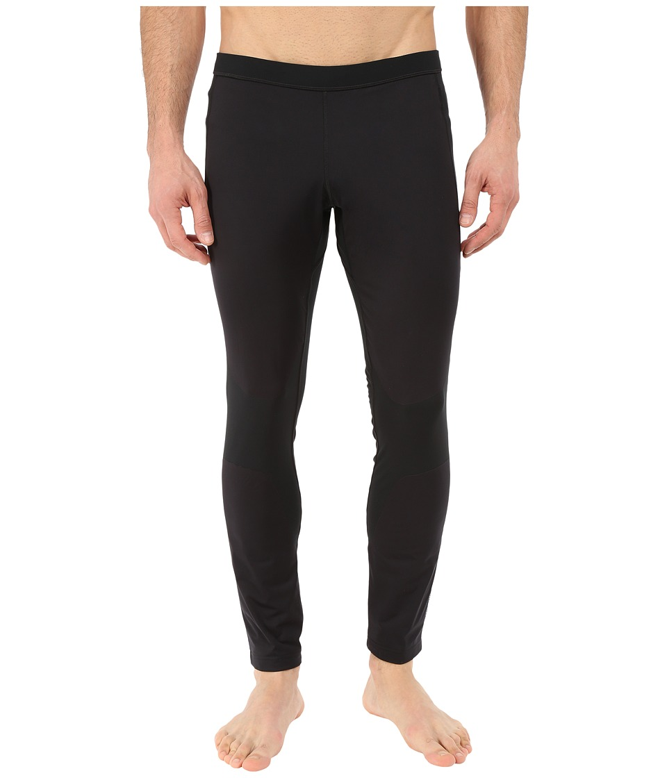 Brooks - Seattle Tights (Black) Men's Casual Pants
