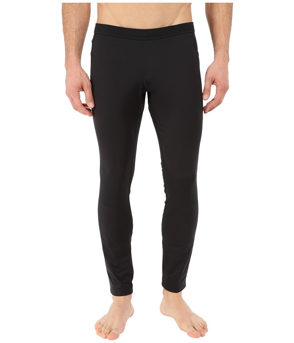 Brooks - Seattle Tights (Black) Men's Casual Pants
