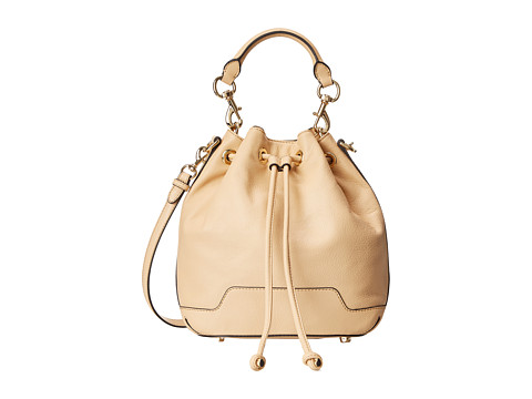 Rebecca Minkoff - Fiona Bucket (Biscuit) Top-Zip Handbags