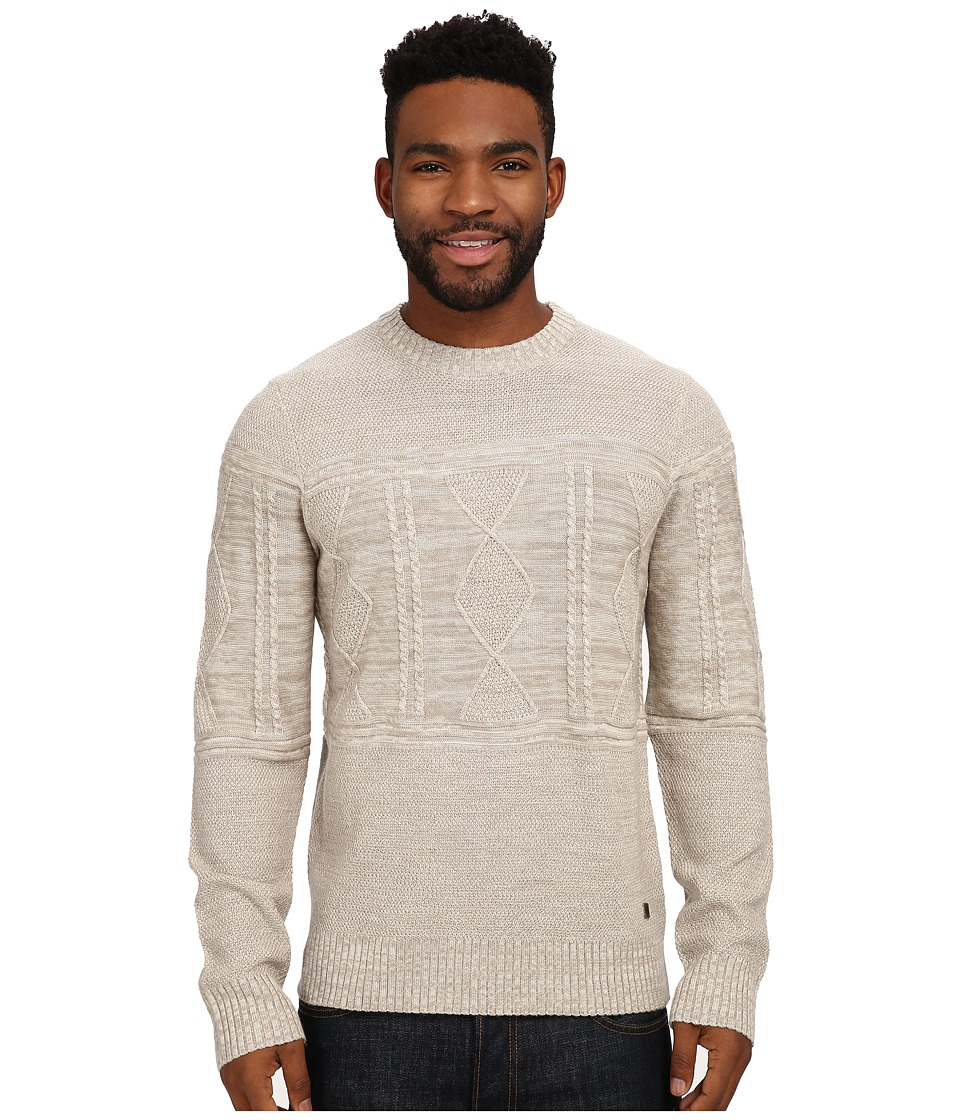 Smartwool - Cheyenne Creek Cable Sweater (Natural Heather) Men's Long Sleeve Pullover