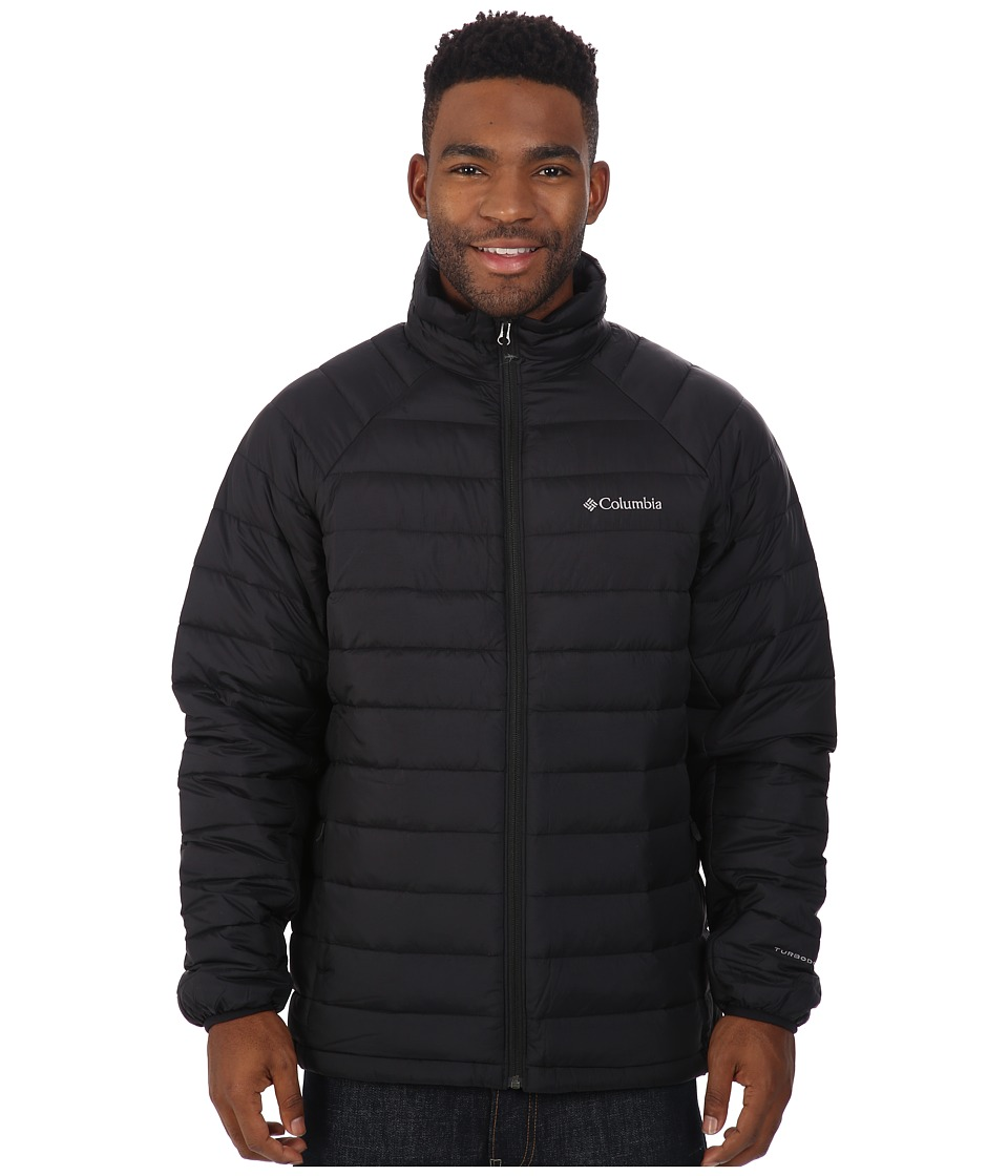 Columbia - Platinum Plus 860 TurboDown Jacket (Black) Men