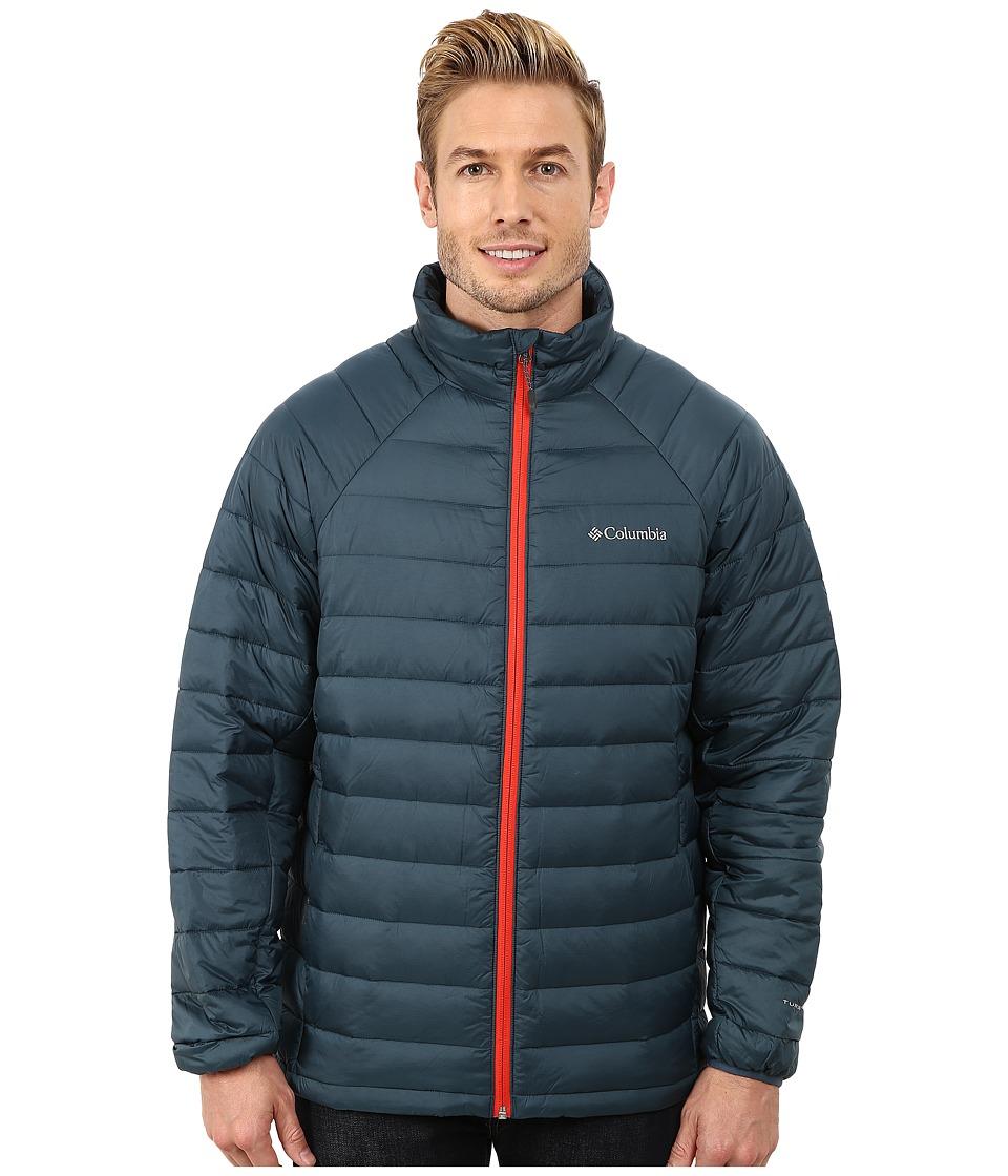 Columbia - Platinum Plus 860 TurboDown Jacket (Everblue/Spicy) Men's Coat