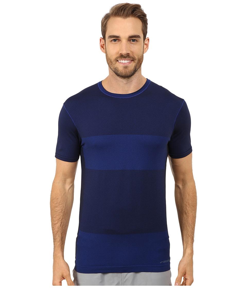 Brooks - Streaker Short Sleeve Top (Marathon) Men