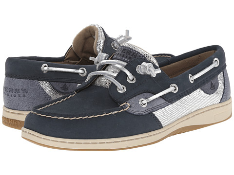 Sperry Top-Sider - Ivyfish Metallic Python (Navy/Blue) Women