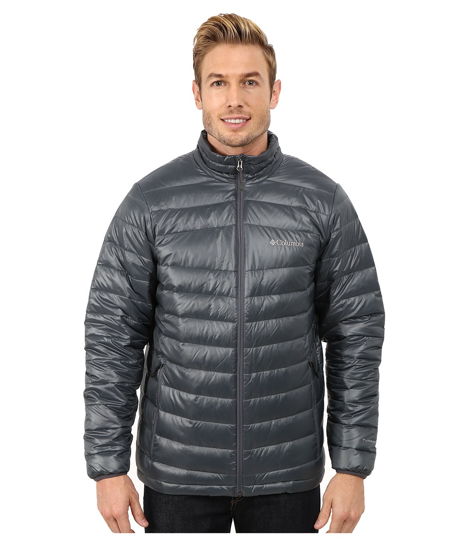 Columbia - Platinum 860 TurboDown Down Jacket (Graphite) Men's Coat