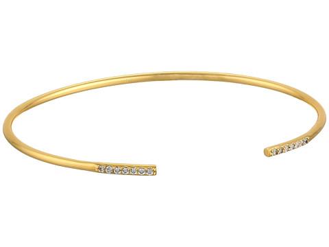 gorjana - Aida Cuff (White/Gold) Bracelet