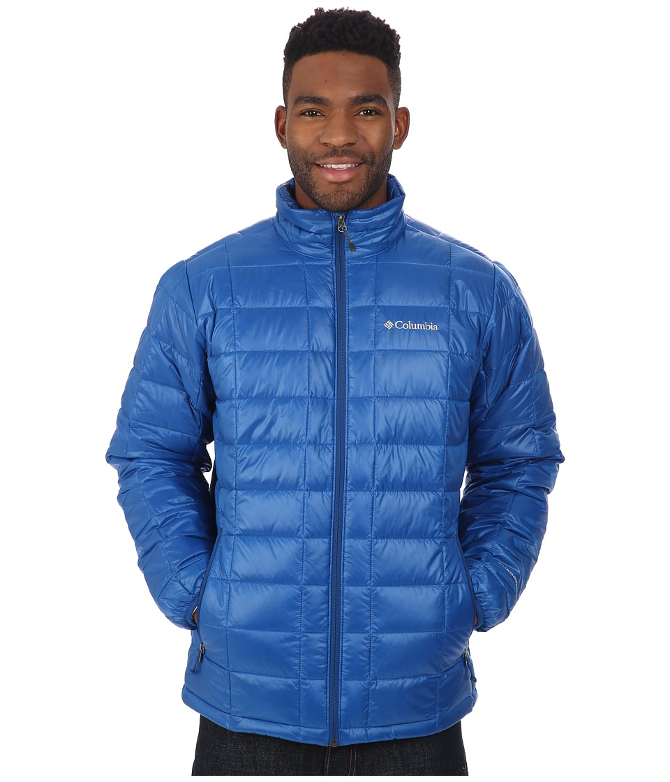 Columbia - Trask Mountain 650 TurboDown Jacket (Marine Blue) Men's Coat
