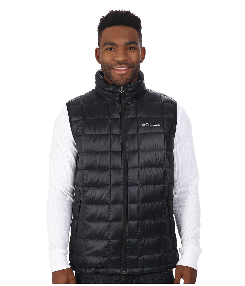 Columbia - Trask Mountain 650 TurboDown Vest (Black) Men's Vest