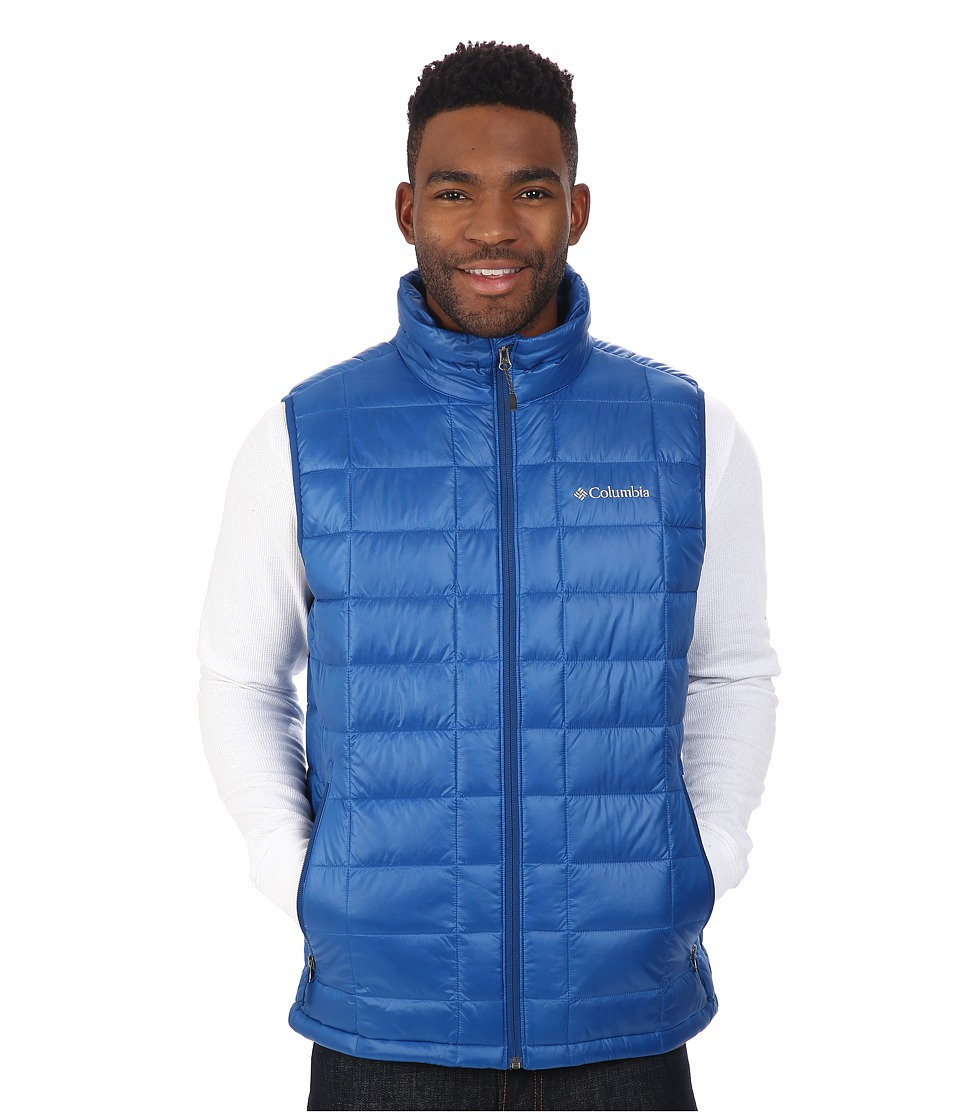 Columbia - Trask Mountain 650 TurboDown Vest (Marine Blue) Men's Vest