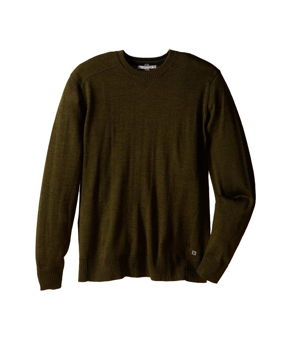 Smartwool - Kiva Ridge Crew (Loden Heather) Men's Long Sleeve Pullover