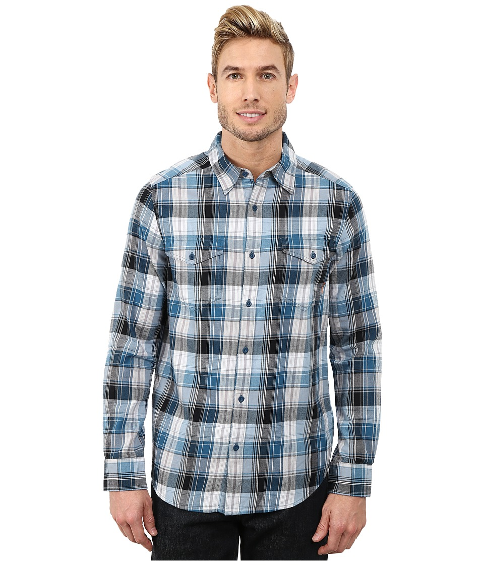 Merrell - Excurse Flannel (Legion Blue) Men's Long Sleeve Button Up