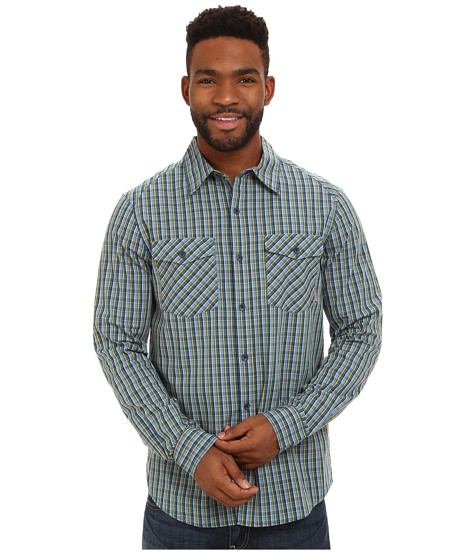 Merrell - Sawyer L/S (Legion Blue) Men's Long Sleeve Button Up