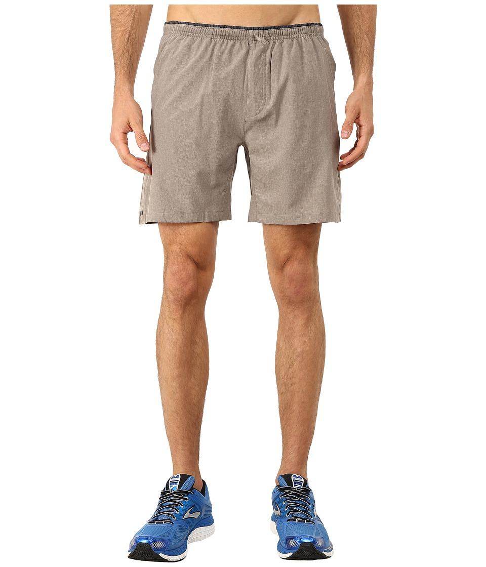 Brooks - Sherpa 7 Shorts (Heather Carb) Men's Shorts