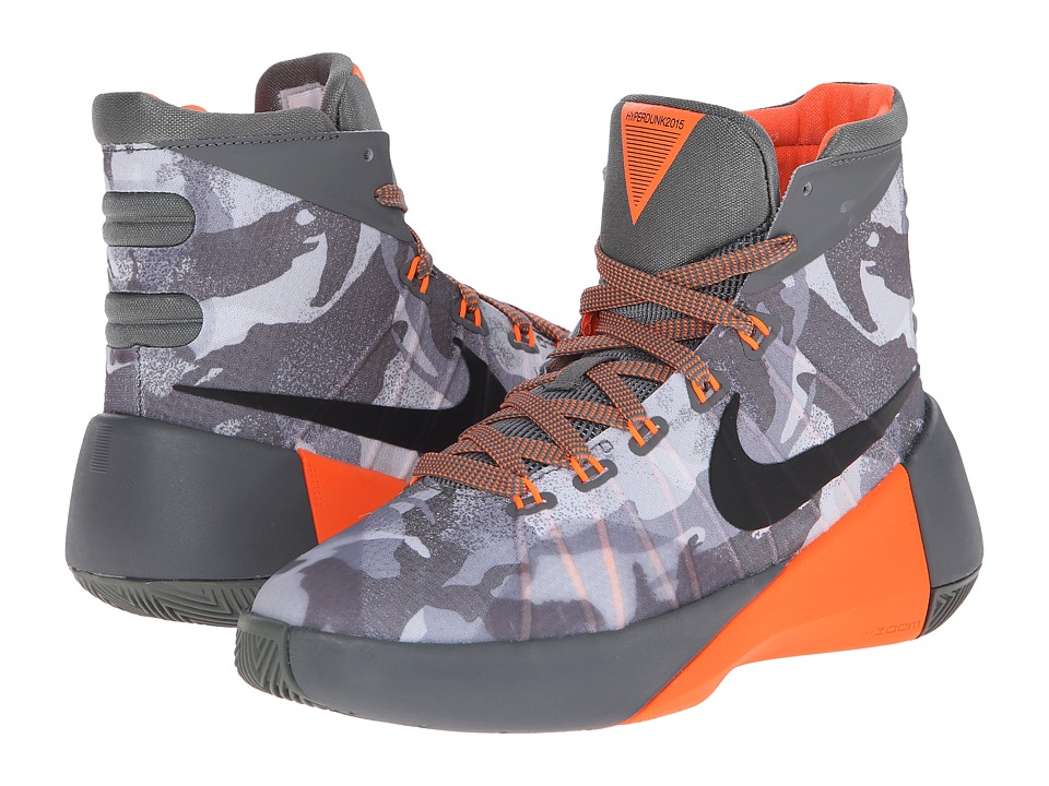 Nike Kids - Hyperdunk 2015 (Big Kid) (Tumbled Grey/Night Silver/Deep Pewter/Black) Boys Shoes