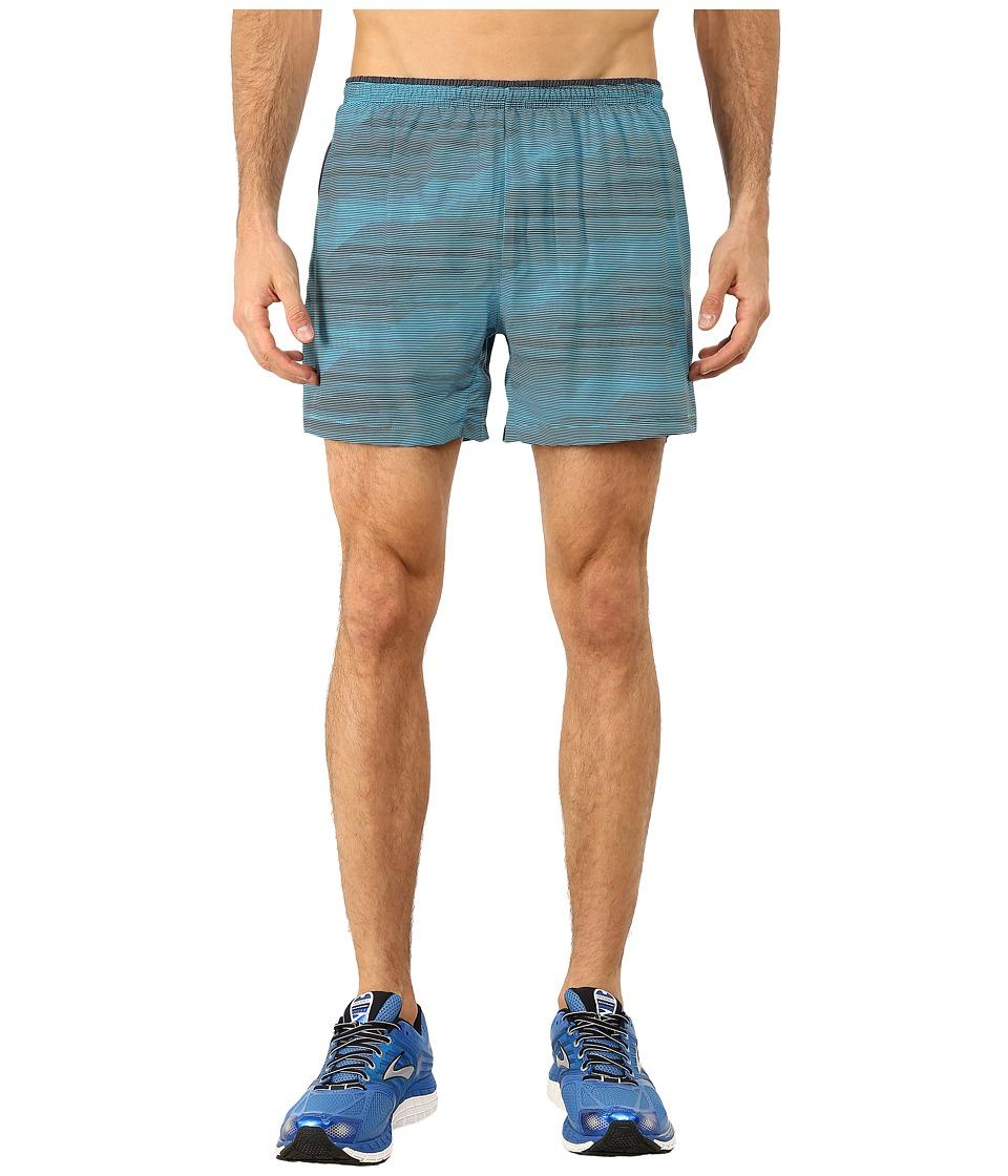 Brooks - Sherpa 5 Shorts (Hydrate Nano) Men's Shorts