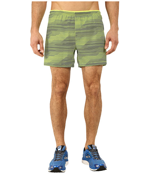Brooks - Sherpa 5 Shorts (Nightlife Nano) Men's Shorts
