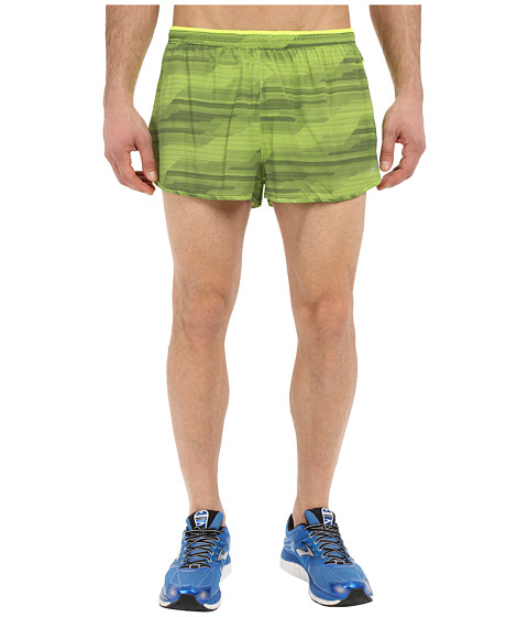 Brooks - Sherpa 2 Split Shorts (Nightlife Nano) Men