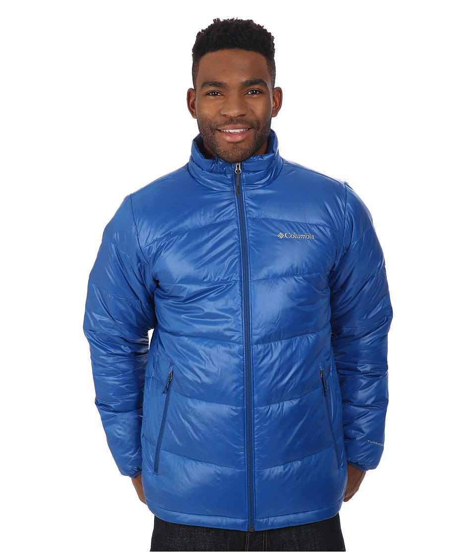 Columbia - Gold 650 TurboDown Down Jacket (Marine Blue) Men's Jacket