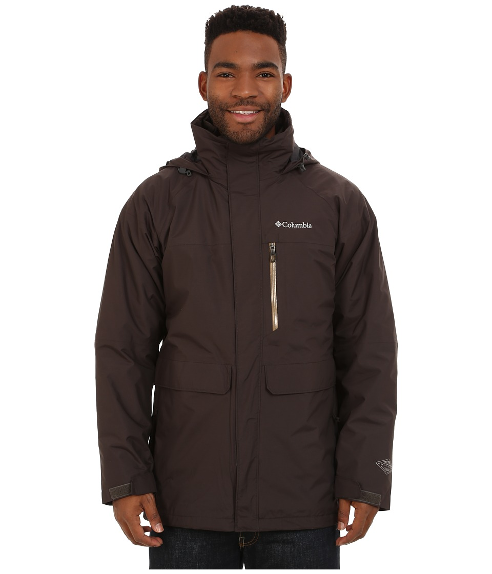 Columbia - Portland Explorer Interchange Jacket (Buffalo/Delta/Buffalo) Men's Coat