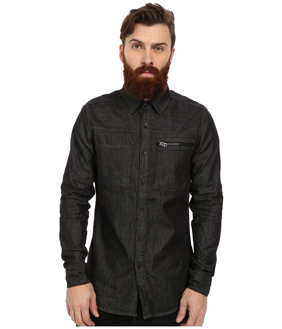 G-Star - Attacc Long Sleeve Shirt (Rinsed) Men