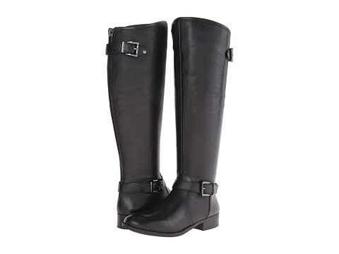 Jessica Simpson - Rinne (Black Soft Silk) Women's Zip Boots