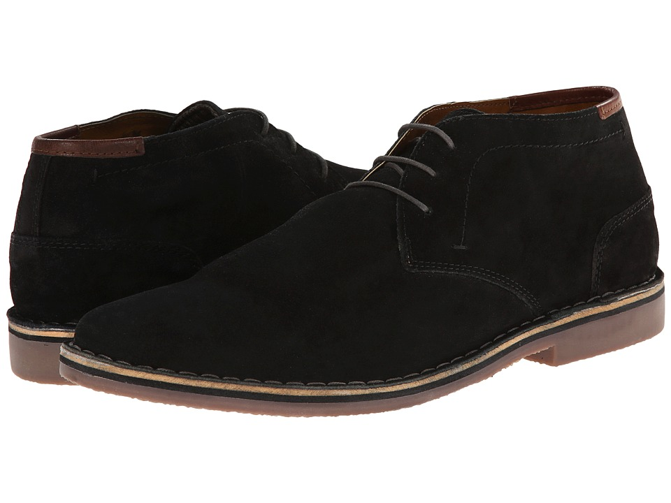 Kenneth Cole Reaction - Desert Sun (Black Suede) Men's Shoes