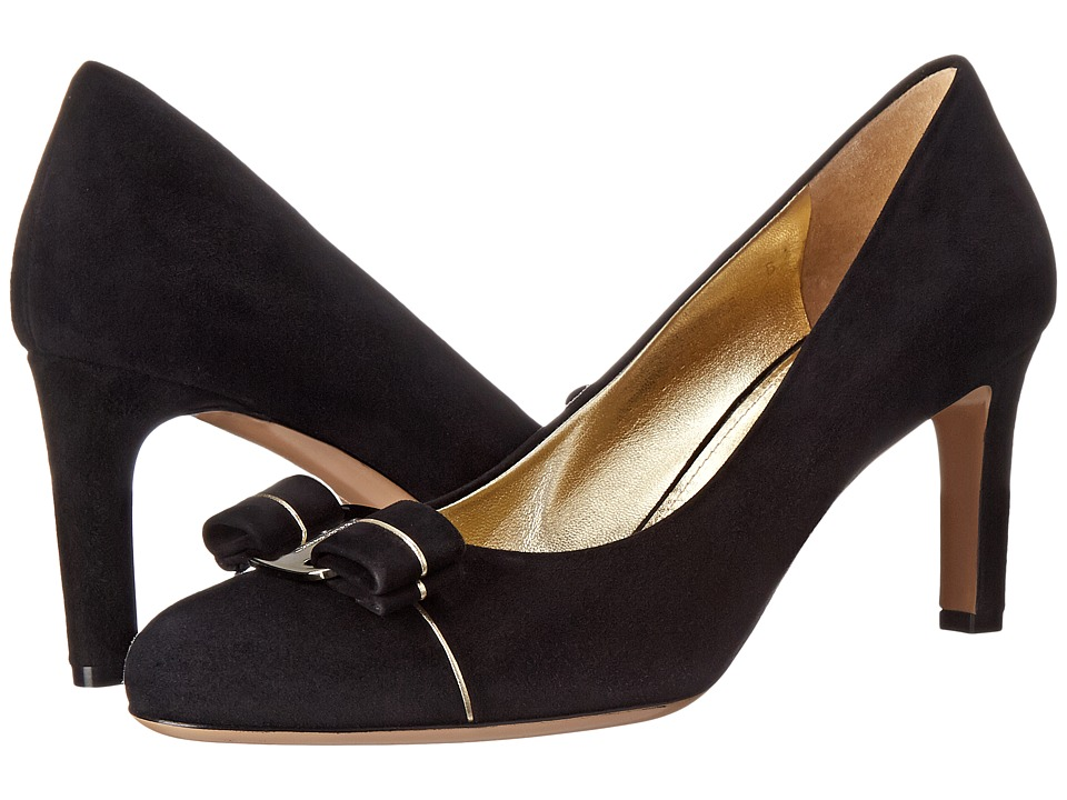 Salvatore Ferragamo - Carla Piping (Nero) Women