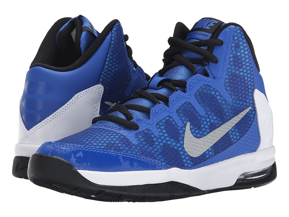 Nike Kids - Air Without A Doubt (Big Kid) (Game Royal/White/Black/Reflect Silver) Boys Shoes