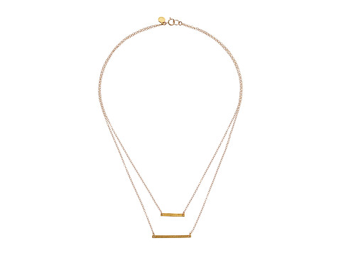gorjana - Knox Layer Necklace (Gold) Necklace
