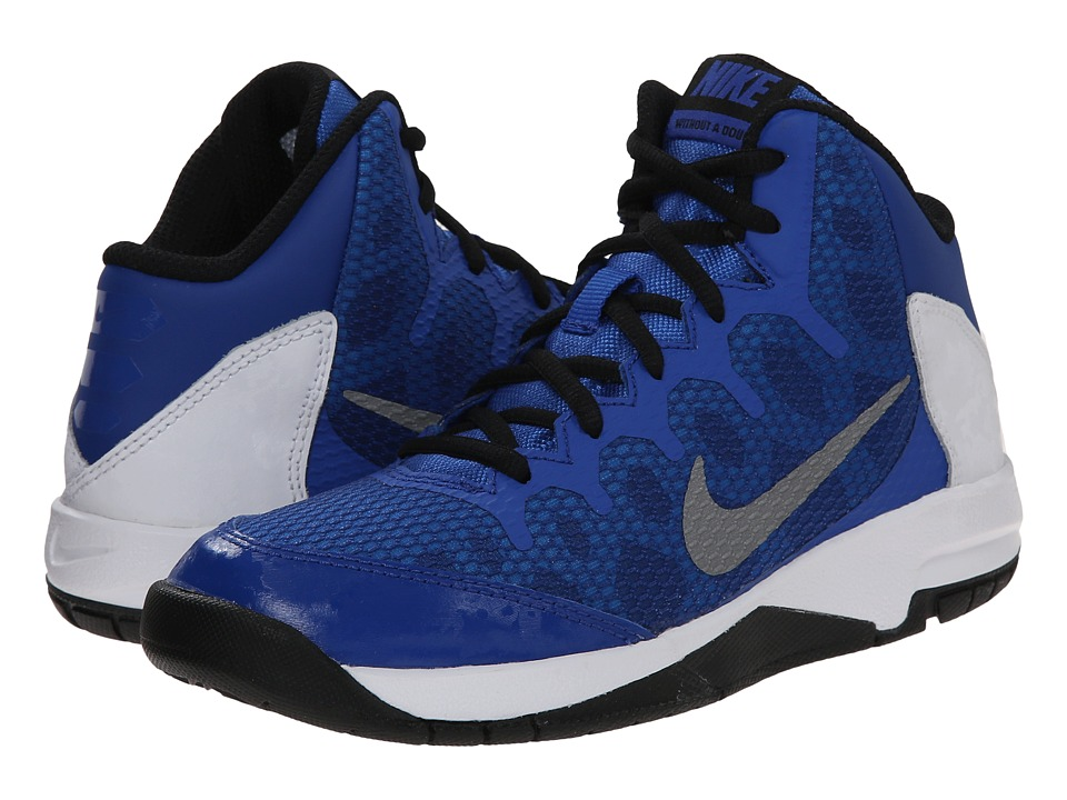 Nike Kids - Without A Doubt (Little Kid) (Game Royal/White/Black/Reflect Silver) Boys Shoes