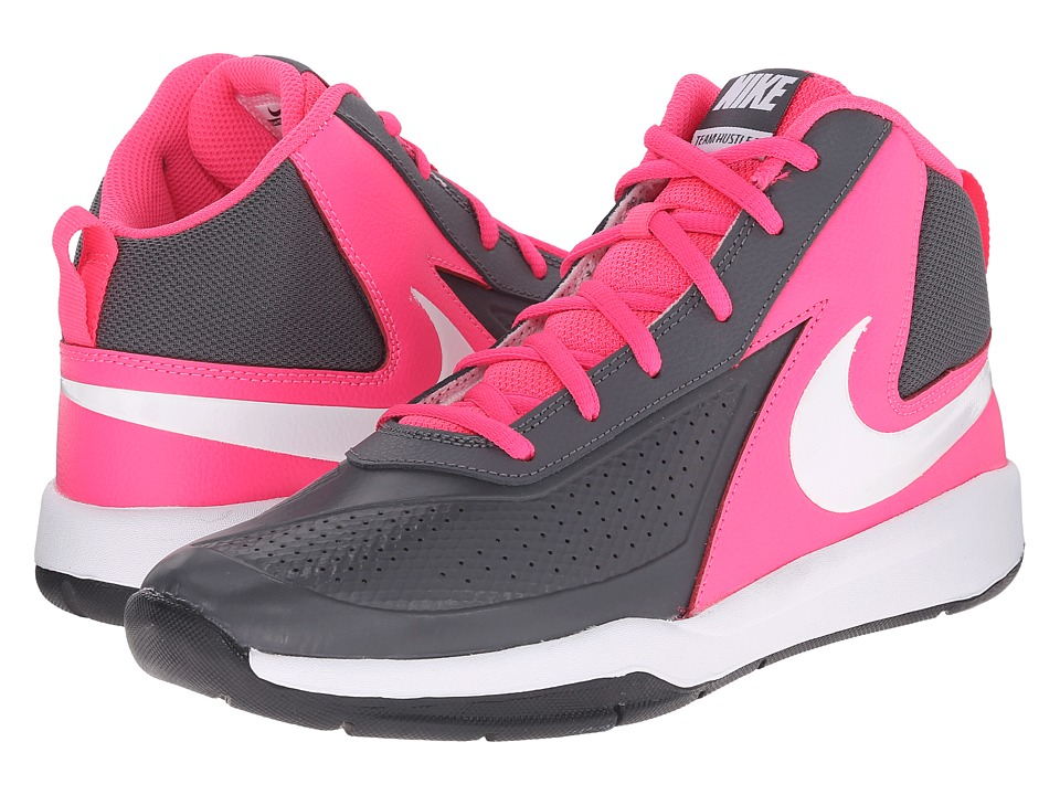 UPC 885259014059 product image for Nike Kids - Team Hustle D 7 (Big Kid) (Dark Grey/Hyper Pink/Black/White) Girls  | upcitemdb.com