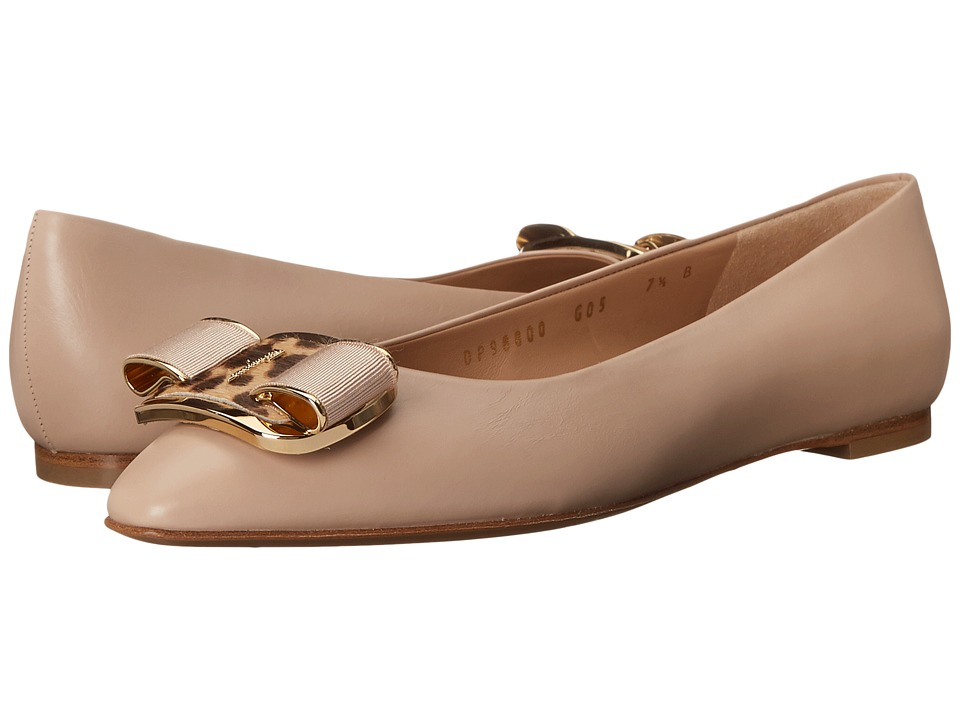 Salvatore Ferragamo - Lola (New Bisque) Women