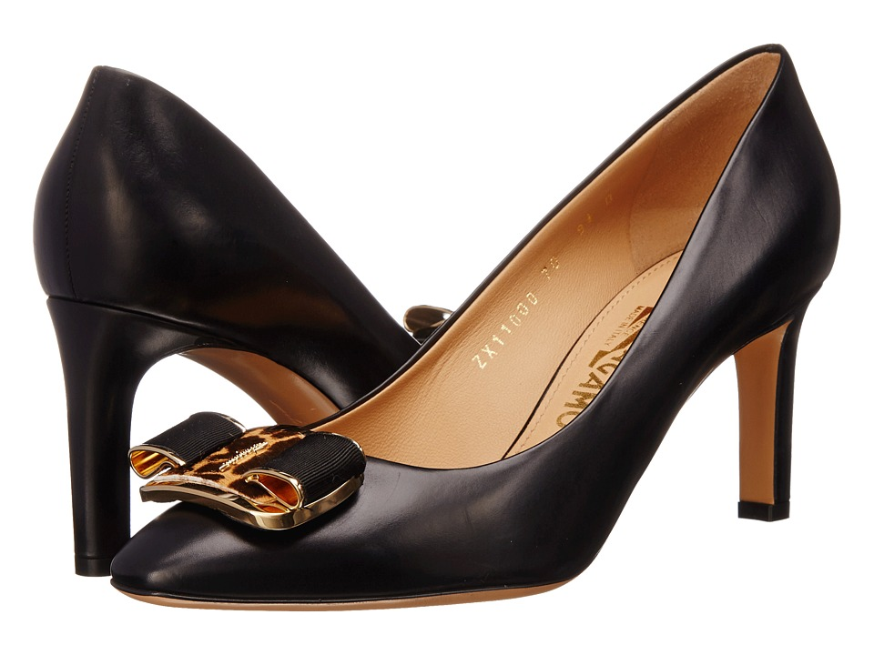 Salvatore Ferragamo - Lola 70 (Nero) High Heels