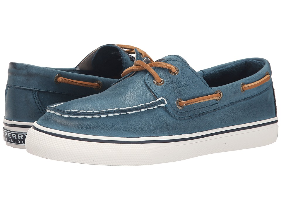 Sperry Bahama Weathered Worn (Petrol) Women