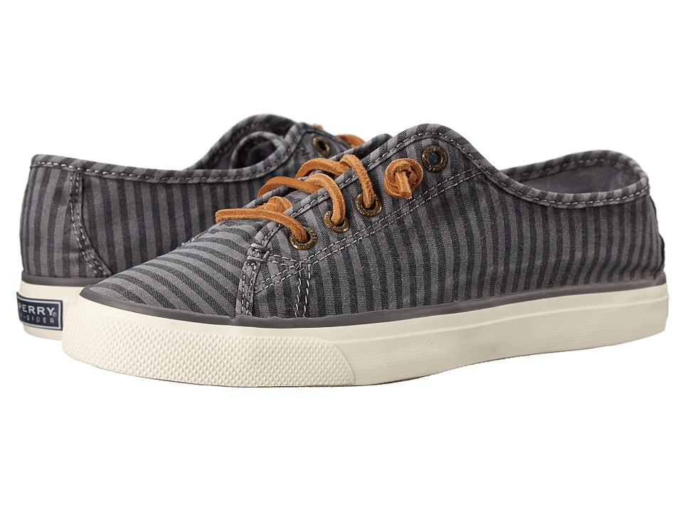 Sperry Top-Sider - Seacoast Striped Oxford Cloth (Charcoal) Women